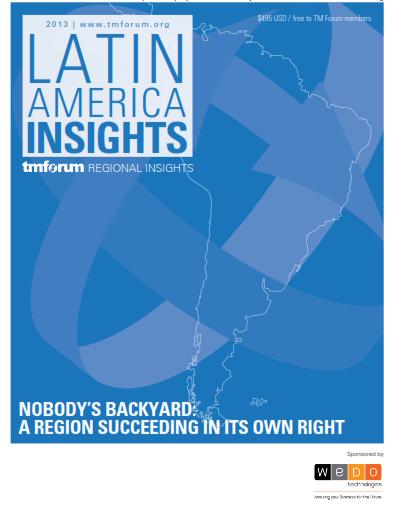 TMForum_WeDo_Technologies_Latin_America_Insights