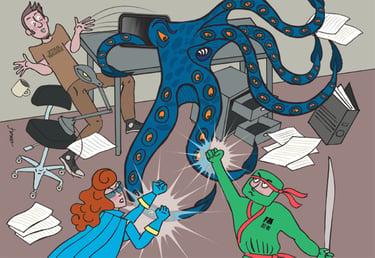 Fraud Management Comics